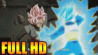 Vegeta SUPER SAIYAN BLUE VS Black Goku SUPER SAIYAN ROSE Dragon Ball Super español latino bt3