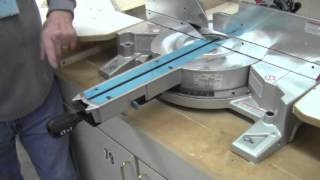 20130329 Safety Demo Makita Compound Miter Saw