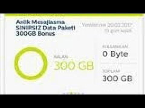 TÜRK TELEKOM İNTERNET KAMPANYASI | 300 GB