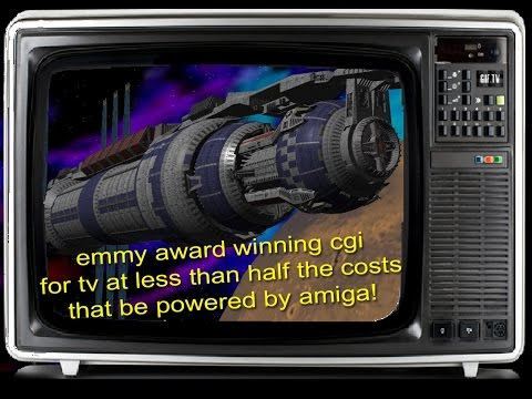 Way before CGI was mainstream, Amiga helped it begin