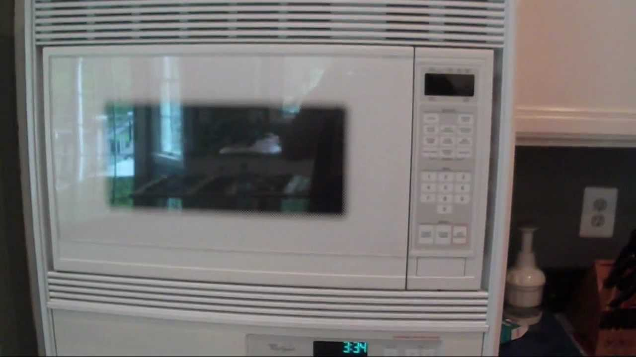 1995 whirlpool 27 microwave wall oven