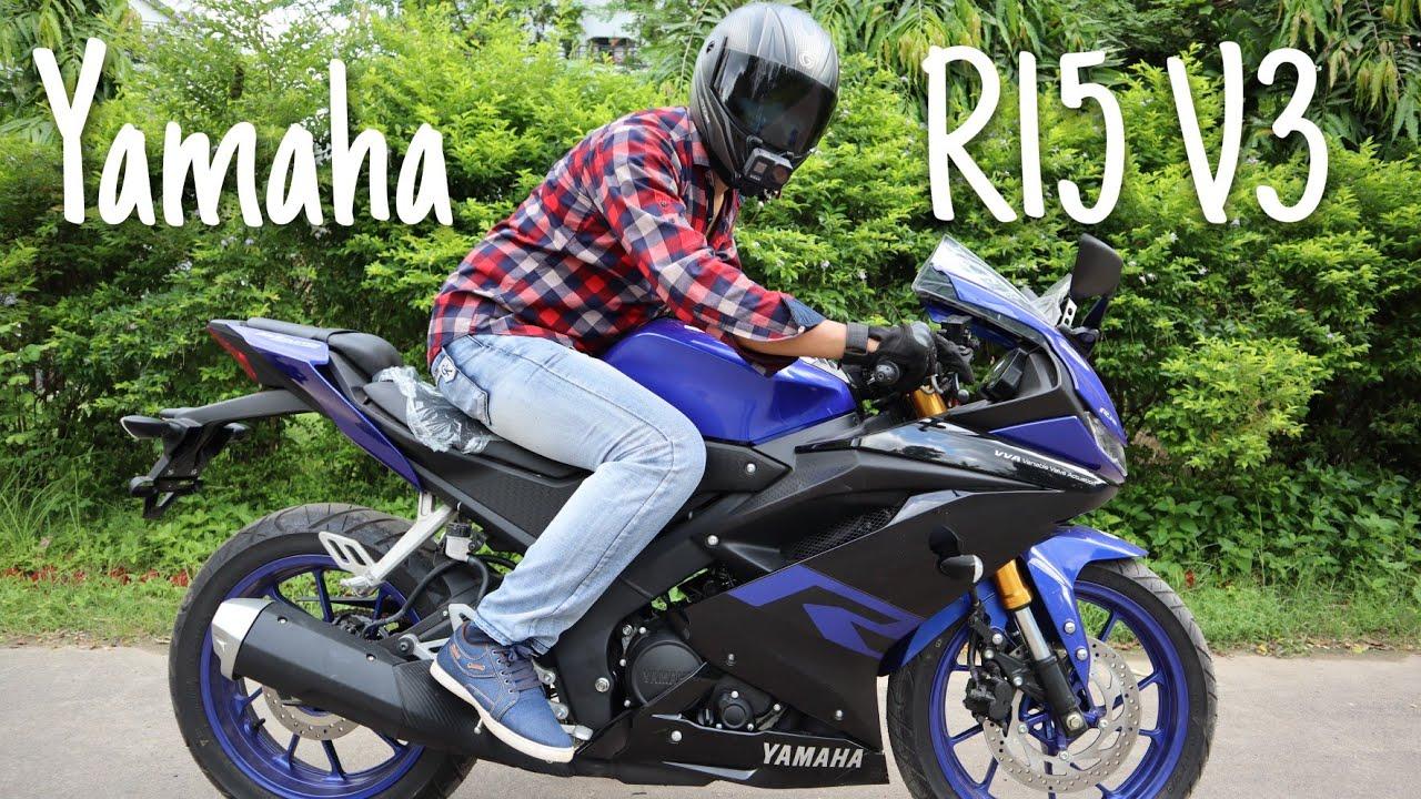 Yamaha R15 v3 Indonesian Ride Review | R15 v3 Indonesian Update Price || Nayem Rock