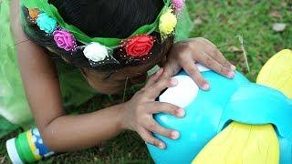 Ketemu Unbelievable Bubble balon raksasa 💖 jadi Peri Tinker Bell 💖 Mainan Anak Let's Play