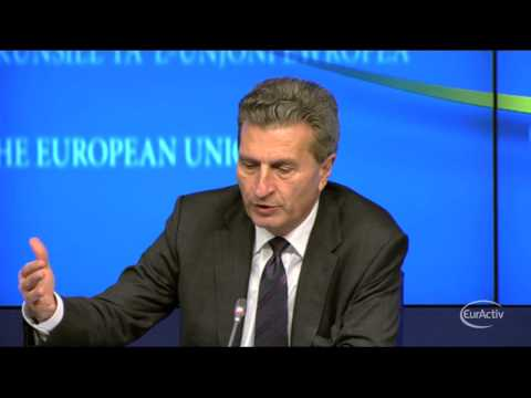 Oettinger takes the lead in legal spat with Russia over South Stream