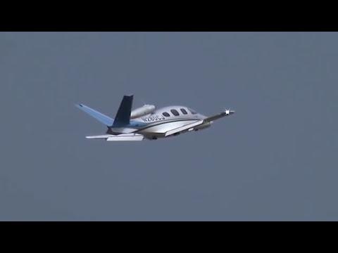 Cirrus Vision SF50 Personal Jet at Oshkosh 2014