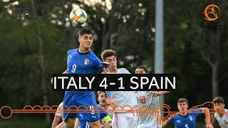 #U17 Group stage highlights: Italy 4–1 Spain