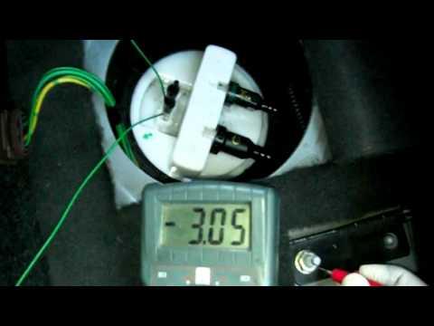 Test 3  Citroen Xantia 20 HDi Fuel Tank Pump  Air in pumped fuel P0230 Fault  YouTube
