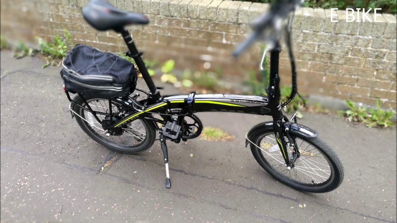 Carrera Crosscity E Bike Electric Eel Part 1 Youtube