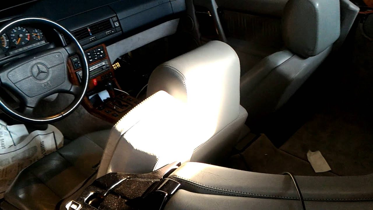 Mercedes SL600 sound system rework