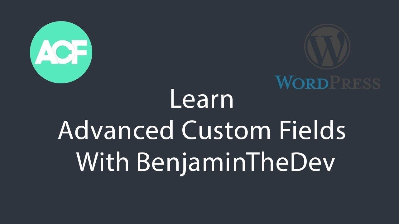 Advanced Custom Fields Setting Up WordPress Child Theme #4