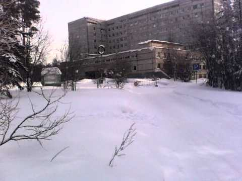Больница в Усть-Илимске 2014