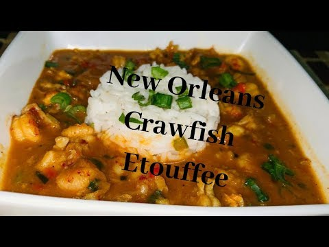 Crawfish Etouffee - Louisiana Style