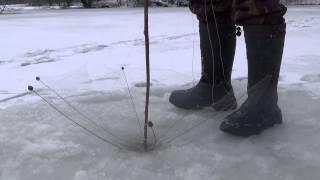 Малявочник ловля со льда...