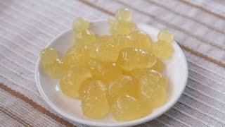 Желейные конфеты со вкусом лимона в домашних условиях
