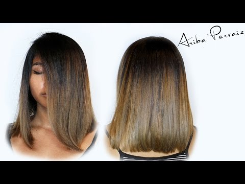 Lob and Ombre - Hair Makeover | ARIBA PERVAIZ
