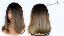 Lob and Ombre - Hair Makeover   ARIBA PERVAIZ