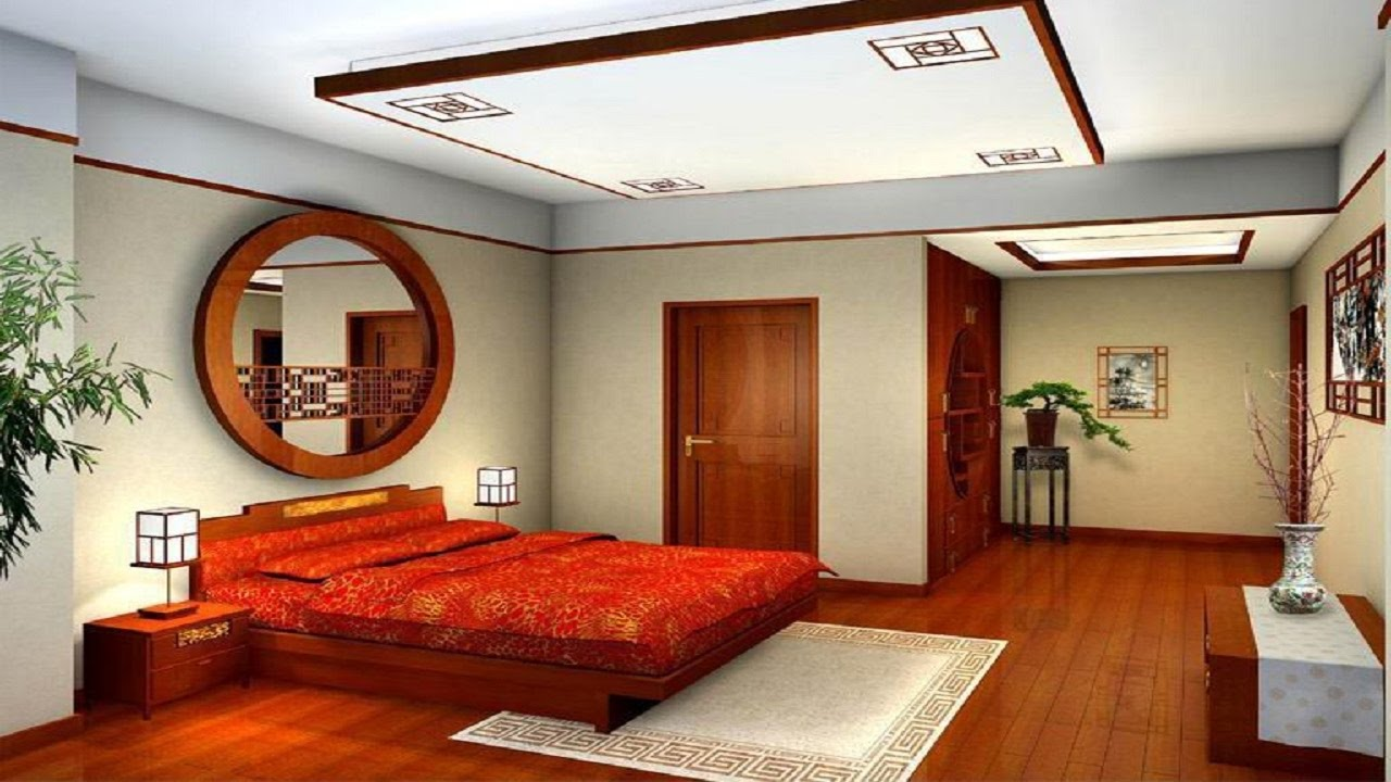 Best 30 beautiful bed room designs ideas simple gypsum - Simple ceiling design for living room ...