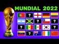 Predicción Clasificados al Mundial Qatar 2022 ! - YouTube