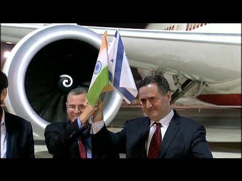 بالفيديو: للمرة الأولى طائرة هندية تصل تل أبيب عبر أجواء السعودية  - نشر قبل 1 ساعة