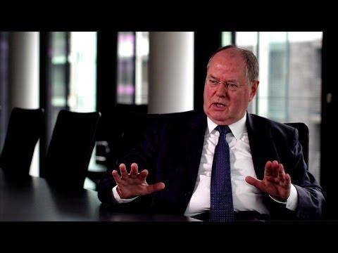 Peer Steinbrück (SPD) über Steuerbetrug und Schweizer Banken (dbate.de-Interview)