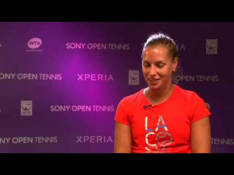 Sony Open Tennis Interview with Cibulkova 3-26