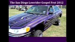 Lincoln Town Car Low Rider The San Diego Low Rider Gospel fest 10-5-2012