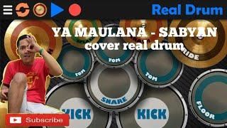 Video YA MAULANA - SABYAN LIRIK (COVER REAL DRUM) download MP3, 3GP, MP4, WEBM, AVI, FLV September 2018