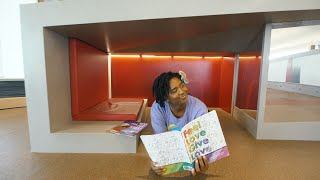 Learn This With Miss Fish   Educational Videos for Toddlers   What Is A Library?