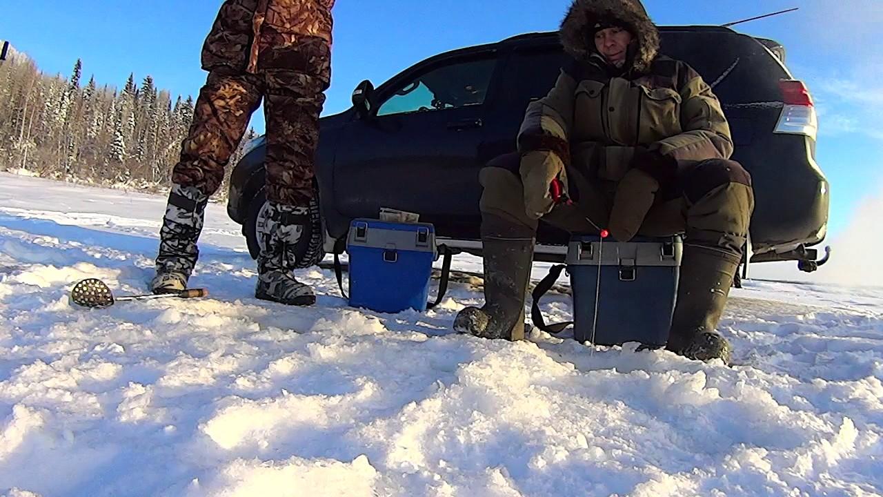В ханты мансийск рыбалка зимой