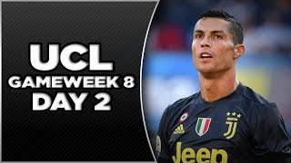 Champions League GameWeek 6 - Day 2 - Highlights and Recap