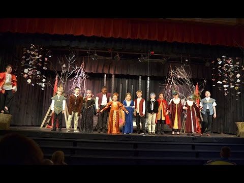 Upland Country Day School   3rd Grade Play 4 27 2016