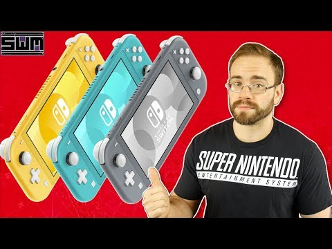 The Nintendo Switch Lite Is Real...And It's Exactly What We Thought It Would Be