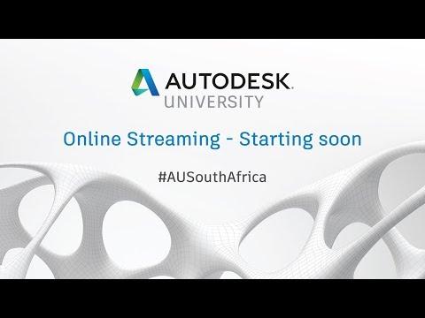 Autodesk University South Africa Live Stream