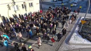 Orszak Trzech Króli w Gnieźnie 2017 - Dron.Gniezno.pl - 6 stycznia 2017