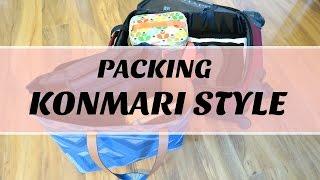 How To   KonMari Method Minimalist Packing