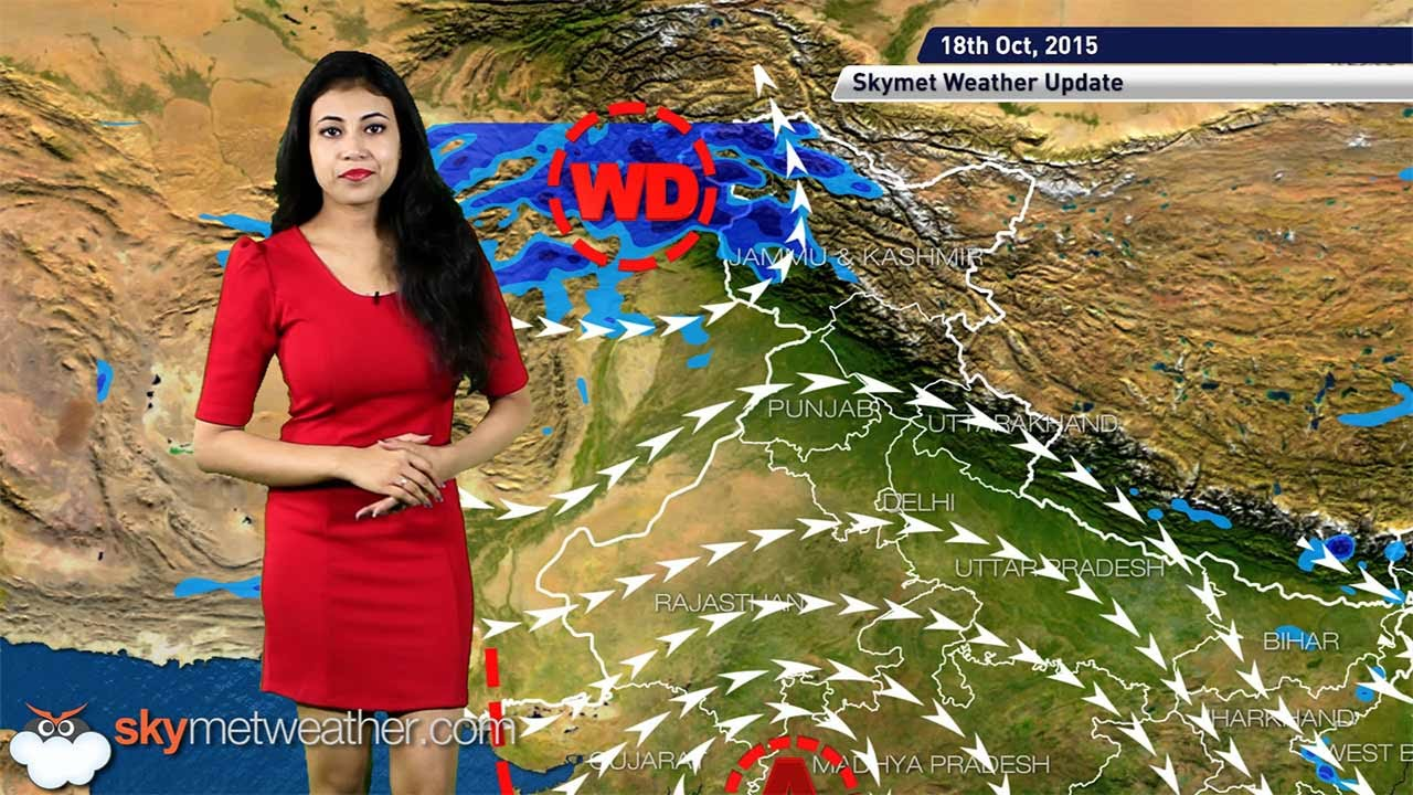 Weather Forecast For October 18 2015 Jammu Kashmir And Himachal To Get Some Rain You