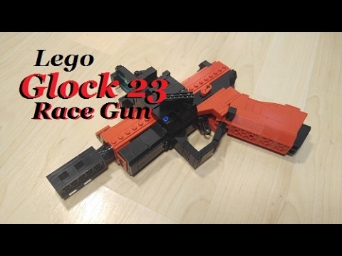 how to build a lego glock