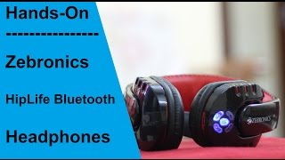 Zebronics Hiplife Bluetooth Headphones