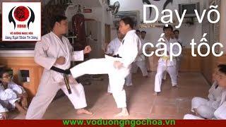 Gambar cover Dạy võ cấp tốc Võ Đường Ngọc Hòa buổi 1 karatedo Viet Nam
