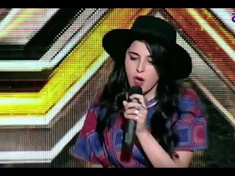 X Factor Armenia  Mane Baghdasayan 22 01 2017 (Bruno Mars - Grenade)
