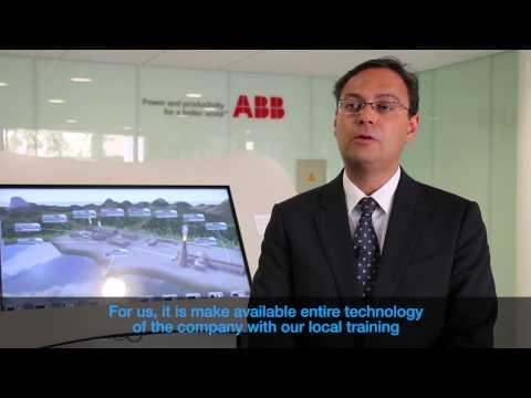 Inauguración ABB University en Chile.