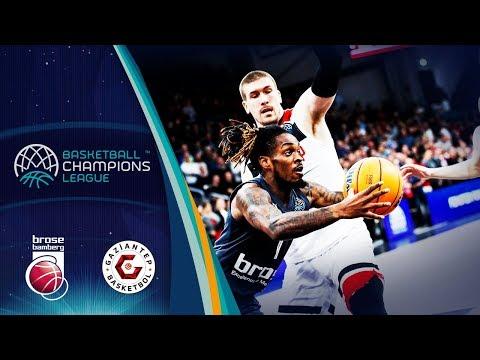 Brose Bamberg V Gaziantep – Highlights – Basketball Champions League 2019-20