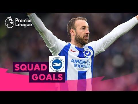 Fantastic Brighton & Hove Albion Goals   Murray, Knockaert, Duffy   Squad Goals