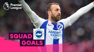 Fantastic Brighton & Hove Albion Goals | Murray, Knockaert, Duffy | Squad Goals