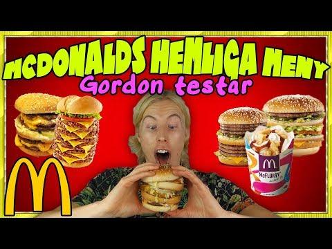 5 HEMLIGA saker du kan beställa på McDonalds (JAG TESTAR ALLA)
