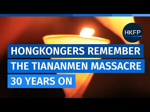 'Fight to the end': Hongkongers remember Tiananmen Massacre, 30 years on