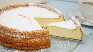 Einfacher Quarkkuchen ohne Boden I Käsekuchen backen ohne Boden