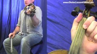 WALKING IN MY SLEEP - [HD] Bluegrass Fiddle Lessons by Ian Walsh