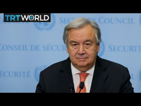Future of Jerusalem: UN Secretary-General Antonio Guterres speaks on Jerusalem