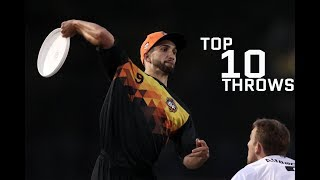 Top 10 Throws 2017 AUDL Season